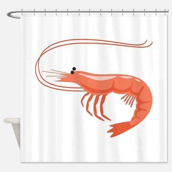 Prawn Shrimp Shower Curtain