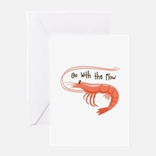 Go WIth the Flow Greeting Cards