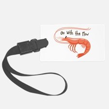 Go WIth the Flow Luggage Tag