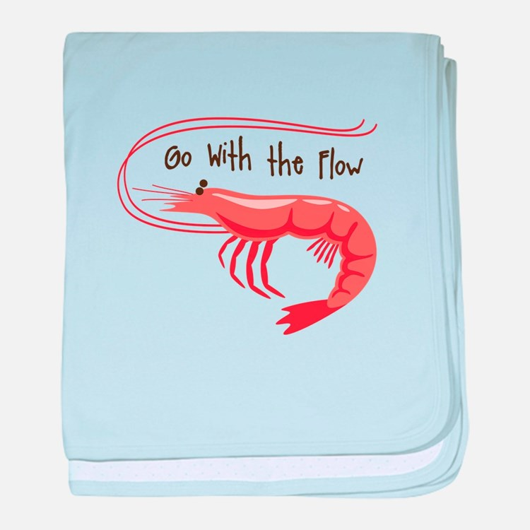 Go WIth the Flow baby blanket