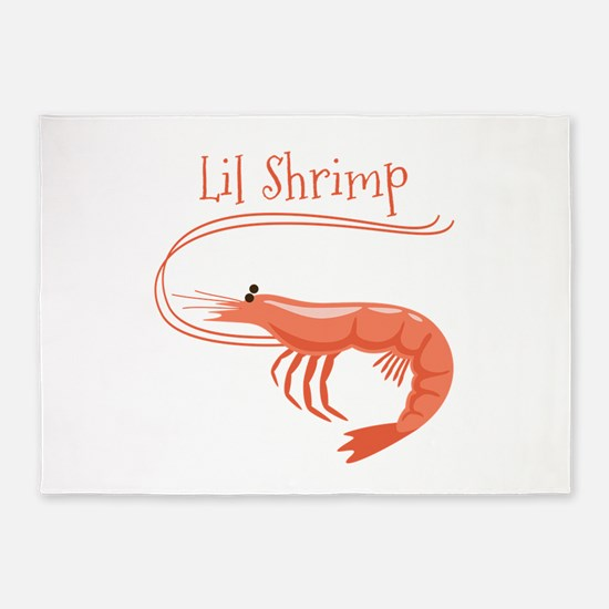 Lil Shrimp 5'x7'Area Rug