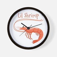 Lil Shrimp Wall Clock