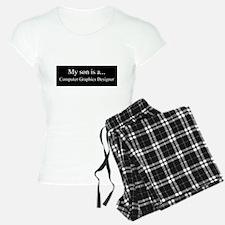 Son - Computer Graphics Designer Pajamas