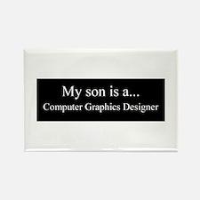 Son - Computer Graphics Designer Magnets