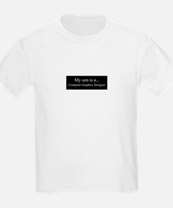 Son - Computer Graphics Designer T-Shirt
