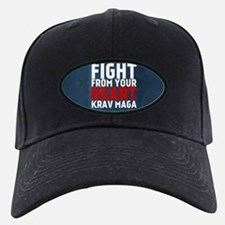 Learn from the street Krav Maga RED Baseball Hat
