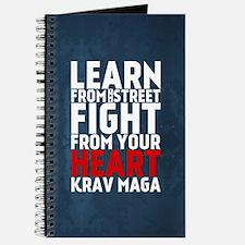 Learn from the street Krav Maga RED Journal