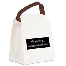 Son - Business Administrator Canvas Lunch Bag