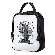 Grim Reaper Neoprene Lunch Bag