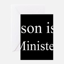 Son - Minister Greeting Cards