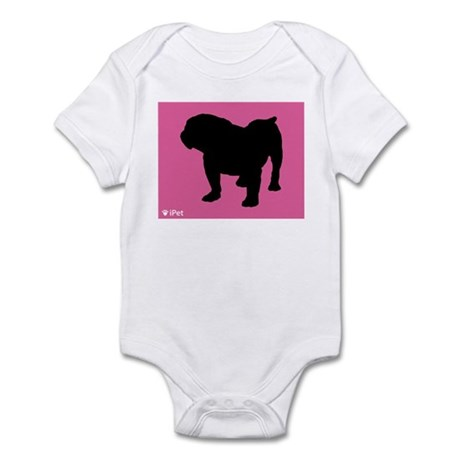 Bulldog iPet Infant Bodysuit