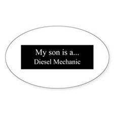 Son - Diesel Mechanic Decal
