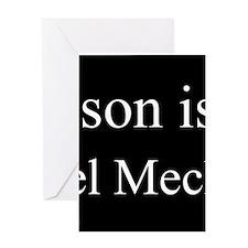 Son - Diesel Mechanic Greeting Cards