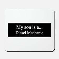 Son - Diesel Mechanic Mousepad