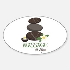 Massage And Spa Decal