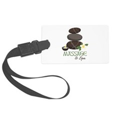 Massage And Spa Luggage Tag