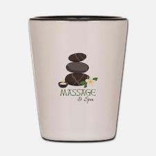 Massage And Spa Shot Glass