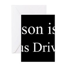 Son - Bus Driver Greeting Cards