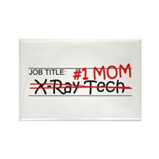 Job Mom X-Ray Tech Rectangle Magnet (100 pack)
