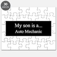 Son - Auto Mechanic Puzzle