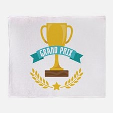 GRAND PRIX Throw Blanket