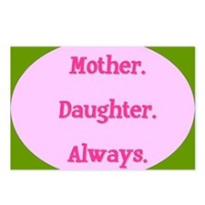 Mother. Daughter. Always. Postcards (Package of 8)