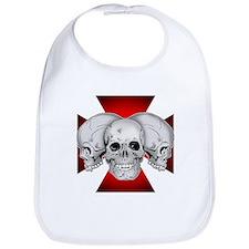 Tri Skull Iron Cross Bib