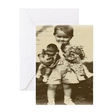 Baby Dolls Greeting Card