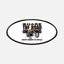 Share the Road Biker Patches