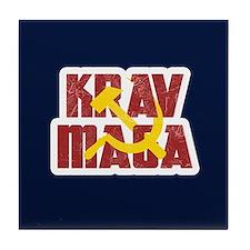 Krav Maga Russia Soviet Union Tile Coaster