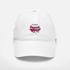 Hawaii Girl Baseball Baseball Cap