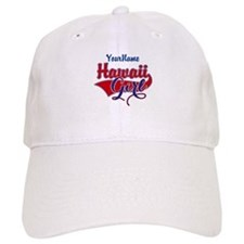 Hawaii Girl Baseball Cap