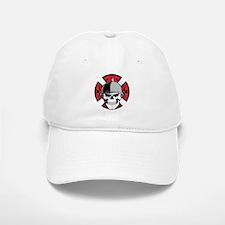 Tribal Round Cross Skull Cap