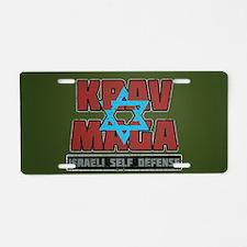 Israeli Krav Maga Magen David Aluminum License Pla