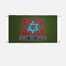 Israeli Krav Maga Magen David Banner