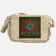 Israeli Krav Maga Magen David Messenger Bag