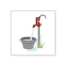 Well Water Hand Pump Sticker