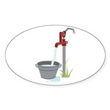 Well Water Hand Pump Decal