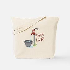 FARM LIVIN Tote Bag