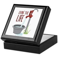 LIVIN THE LIFE Keepsake Box