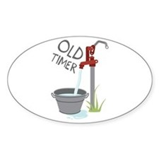 OLD TIMER Decal