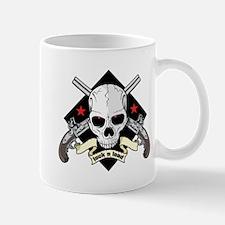 Lock and Load Skull and Guns Mug