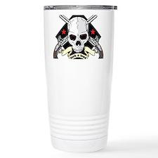 Lock and Load Skull and Travel Mug