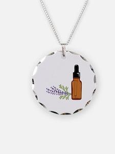 Aromatherapy Lavender Bottle Necklace
