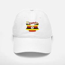 Ugandan ribbon Baseball Baseball Cap