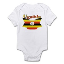 Ugandan ribbon Infant Bodysuit