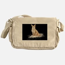 The Lonely Fox Messenger Bag