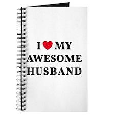 I love my awesome husband Journal