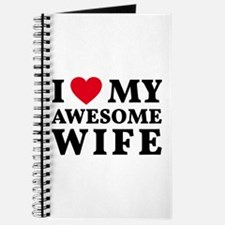 I love my awesome wife Journal