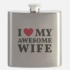I love my awesome wife Flask